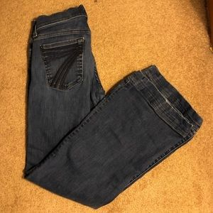 seven for all mankind dojo flare jeans size 24